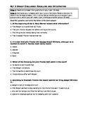 The Crucible Act 3 CRS Questions and Distracter Analysis
