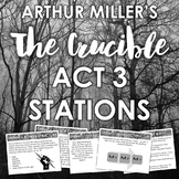 The Crucible Act 3 Learning Stations: Engaging Analysis