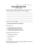 The Crucible Act 3 test
