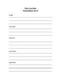 The Crucible Act 3 vocabulary