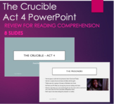 The Crucible Act 4 - PowerPoint Summary for Reading Compre