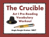 The Crucible Act I Vocabulary Workout {Three Exercises}