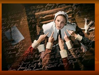 The Crucible: Act I and Act II characterization and inference