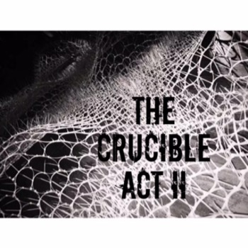 The Crucible Act II Lesson Plan Power Point and Graphic Or