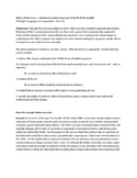 The Crucible Act III Rhetorical Precis writing activity