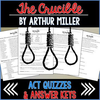 The Crucible Act Quizzes