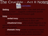 The Crucible Act Two Notes PowerPoint