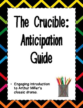 The Crucible - Anticipation Guide