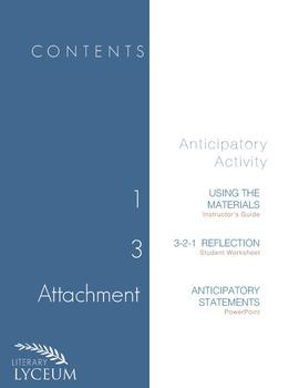 The Crucible Anticipatory Activity