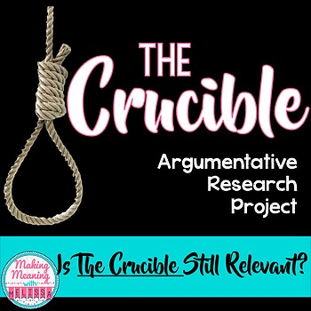 The Crucible - Argument Presentation