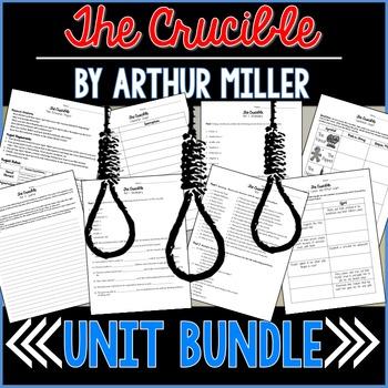 The Crucible (Arthur Miller) Unit Bundle
