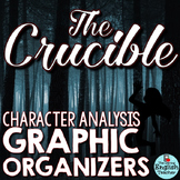 The Crucible Character Analysis Graphic Organizers