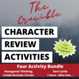 The Crucible Character Review Active Engagement Set