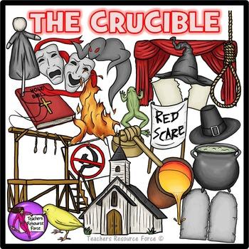 The Crucible / Spooky Halloween Clip Art