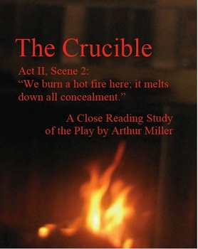 the crucible act two study questions View test prep - crucible act two study questions from eng 10 at american public university yazid amrani english 10 10/11/10 crucible act two: study questions 1 at the beginning of act two.