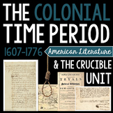 The Crucible & Colonial Time Period Unit: Hands-on, Interactive Activities