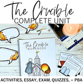 The Crucible Complete Unit: Engaging Activities, Quizzes, Exam, & Essay