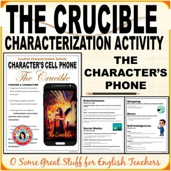 THE CRUCIBLE CHARACTERIZATION ACTIVITY Fun and Effective!