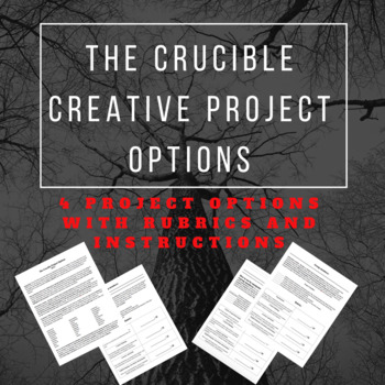 The Crucible Creative Project Options