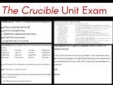 The Crucible {Critical Thinking Unit Exam}