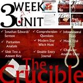 Arthur Miller's The Crucible Curriculum Unit with Google Slides
