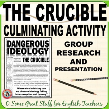 The Crucible: Dangerous Ideology Group Research of Historical Tyrannies Project