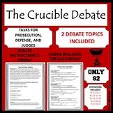 The Crucible Activity: Debate