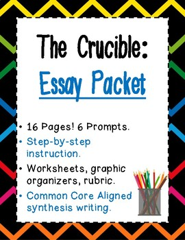 The Crucible Essay Packet