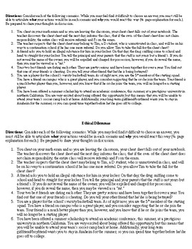 The Crucible: Ethical Dilemma Discussion Guide