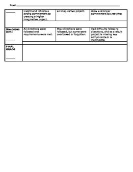 The Crucible Final Project - Overview and Rubric (Word Doc)