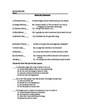The Crucible Final Unit Test with Answer Key