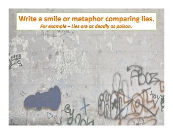 The Crucible Graffiti Wall Introduction Activity