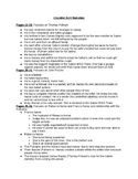 The Crucible Guided Notes for the opening Narration