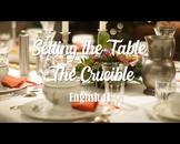 The Crucible- Holiday Seating Chart