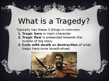 The Crucible Intro Lesson Power Point: Tragedy
