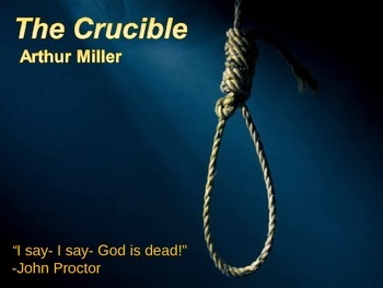 The Crucible Intro. PowerPoint