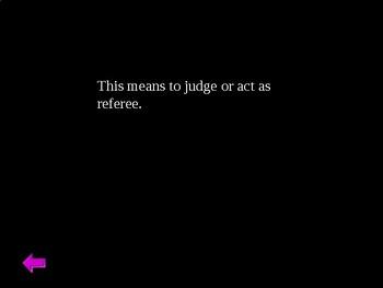 The Crucible Jeopardy Act III