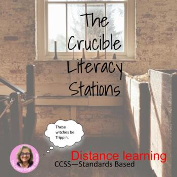 The Crucible Literacy Stations