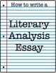 The Crucible Literary Analysis Task