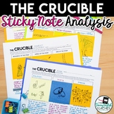 The Crucible: Literary Analysis with Sticky Notes