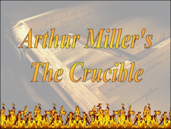 The Crucible Unit ~ Common Core Aligned including New Writing Performance Task