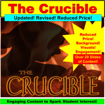 The Crucible Movie Teaching Resources Teachers Pay Teachers