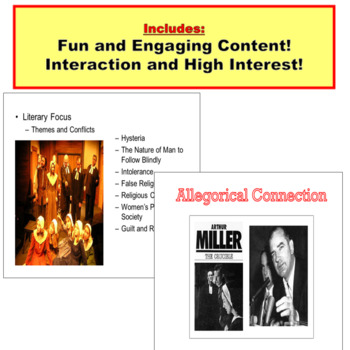 The Crucible PowerPoint