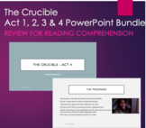 The Crucible PowerPoint Summary Bundle Act 1, 2, 3 and 4