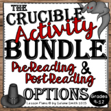 Crucible Activities - Pre-Reading and Post-reading