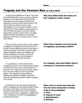 The Crucible Prereading Activities (Bundle) (MS Word)