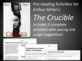 The Crucible Prereading Activities (Bundle) (MS Word)