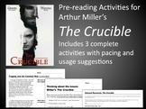 The Crucible Prereading Activities (Bundle) (PDF)