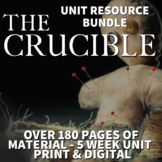 The Crucible Literature Guide Full Unit of Study for Teaching The Crucible