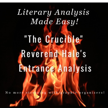 The Crucible - Reverend Hale's Introduction - Graphic Organizer for Annotations